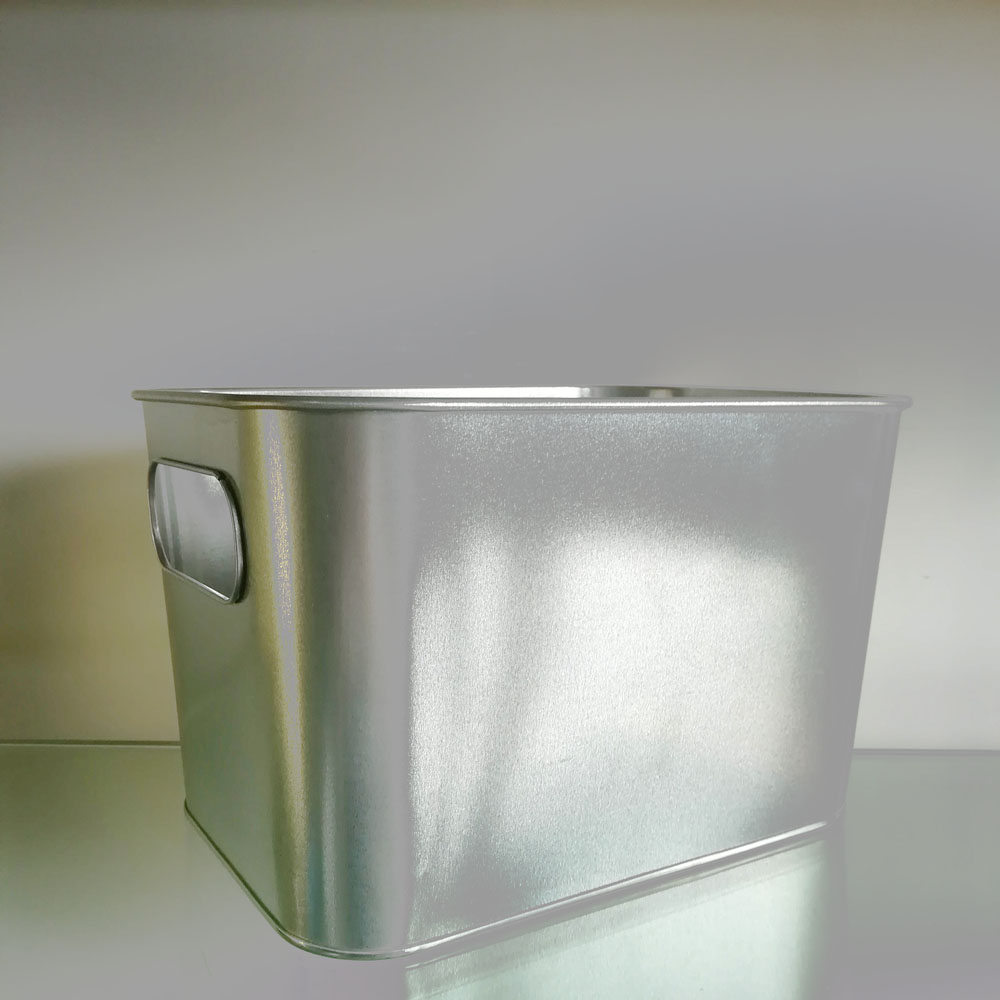 Inner Handle Square Bucket