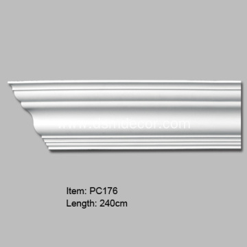 Plain Cornice Moulding For Wall