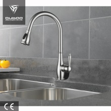 Chrome Finished Countertop Kitchen Faucet Taps With Sprayer