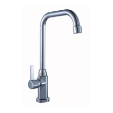 Chromed Square Head Kitchen Faucet Tap