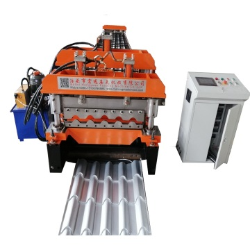 Step roofing tile roll making machine