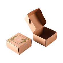Custom Design Folding Craft Paper Soap Gift Box