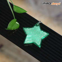 Reflective Safety Star Walking Reflector Keychain Hanger