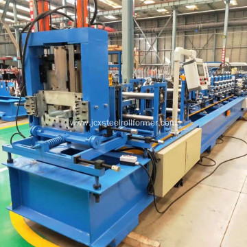 full auto cuz channel roller forming machine pre punching