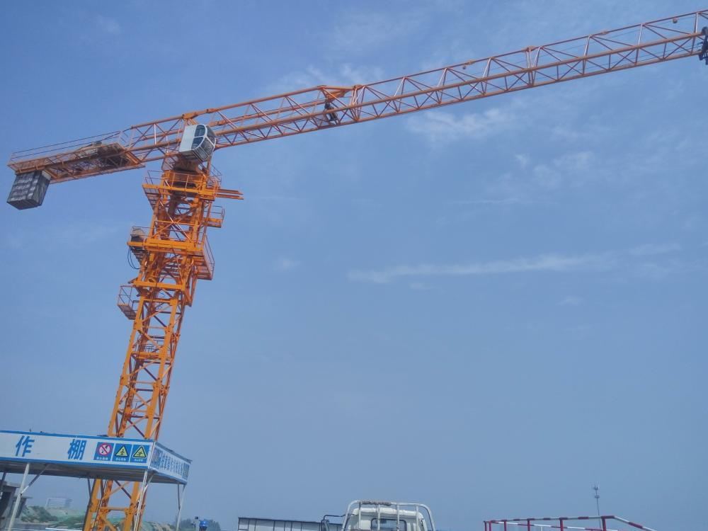8ton Flat Top Topless Tower Crane Tc5615p