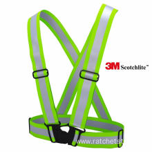 Factory directly for Polyester Reflective Vests High Visibility Yellow Safety Brace/Safty Vest supply to Macedonia Importers