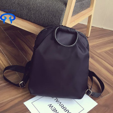 Custom female college wind backpack nylon backpack