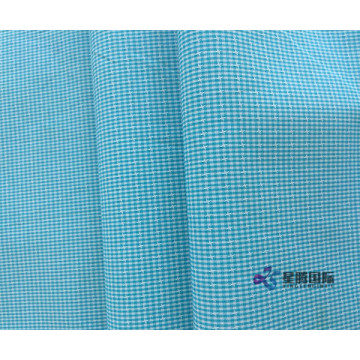 Yarn Dyed Plain Cotton Woven Fabric