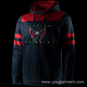 Hot selling attractive price for Lights Up Clothings Loyalty Washington lights up pullover hoodie supply to Turkey Factories