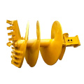 Flight Butterfly Rock Auger Drill Bit