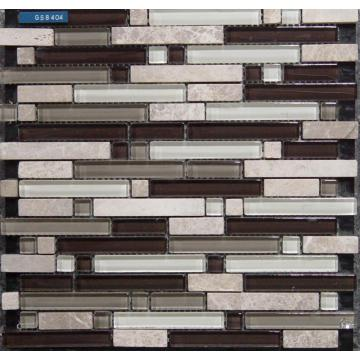 Strip Material Mixed Mosaic Tile