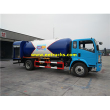 China for 10 M3 Lpg Gas Filling Tank Trucks 20cbm SINOTRUK LPG Gas Filling Trucks supply to Lao People's Democratic Republic Suppliers