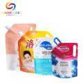 Moisture Doypack Shampoo Spout Bags Packaging