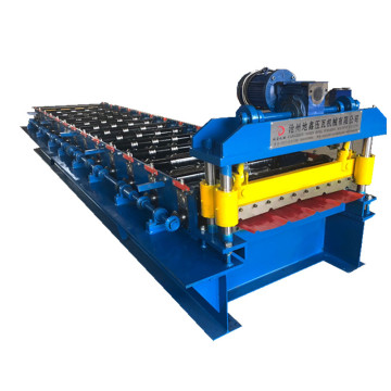 Color Coated Steel ibr Roof Panel Forming Machine