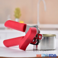 Ergonomic design plastic color handle tin opener
