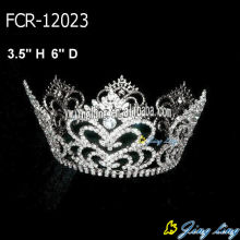 Beauty Queen Full Round Crowns Wholesale Cheap