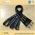 Cheap custom printed sublimation logo lanyard