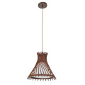 Industrial Wood Drop Down Pendant Wood Hanging Lamp