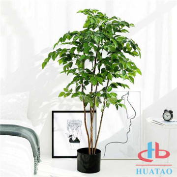 Artificial Plants With Potted For Hotel Decoration