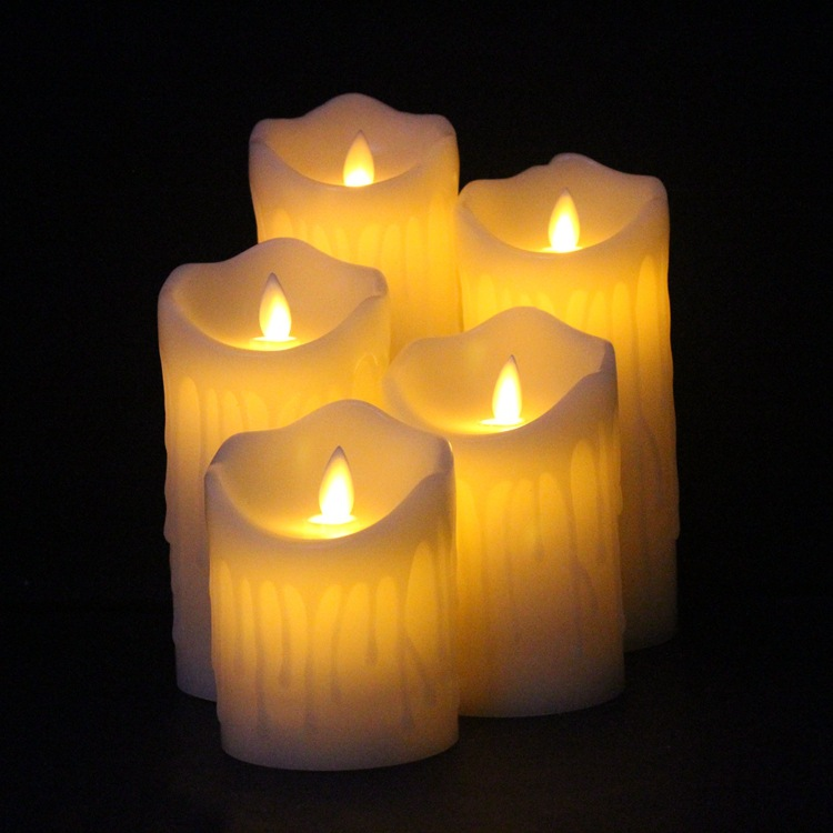 Tears Led Candle 1