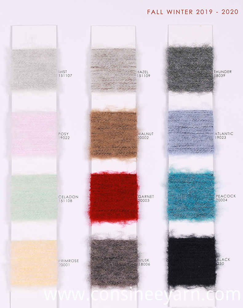 fancy pure cashmere yarn