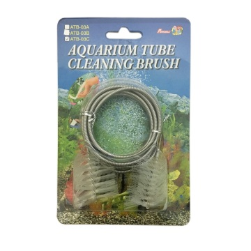 "Percell 60"" Dual-Head Spring Aquarium Tube Brush"