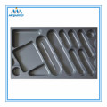 Glossy Silver Kitchen Cutlery Insert Tray