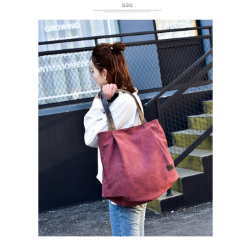 Simple art tote bag leisure bag