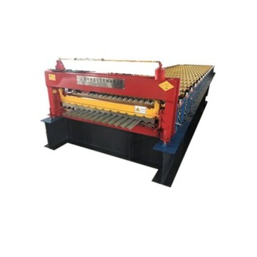 Corrugated Cold Glazed Tile Roll Forming Machine