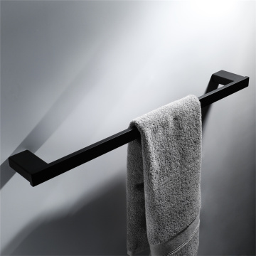 HIDEEP Bathroom Accessories Black Single Pole Towel Rack