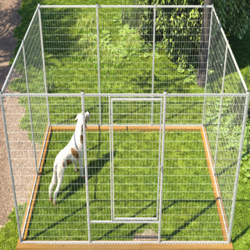 Factory Price Galvanized Large Outdoor Dog Kennel