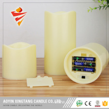 "3"" Pillar LED Candle Flameless Candle with Remote"