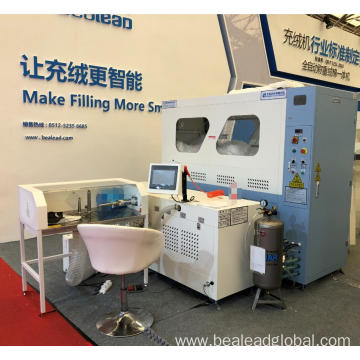 Single Port Duck Down Filling Machine