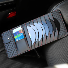 Short Lead Time for Organize Car Trunk CD Visor Organizer DVD Disk Storage Holder export to Bulgaria Wholesale