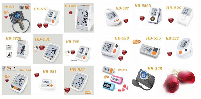 Other digital blood pressure monitors