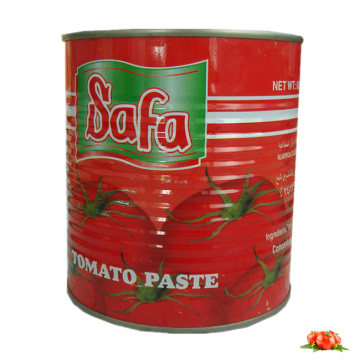 SAFA Brand Canned Tomato Paste