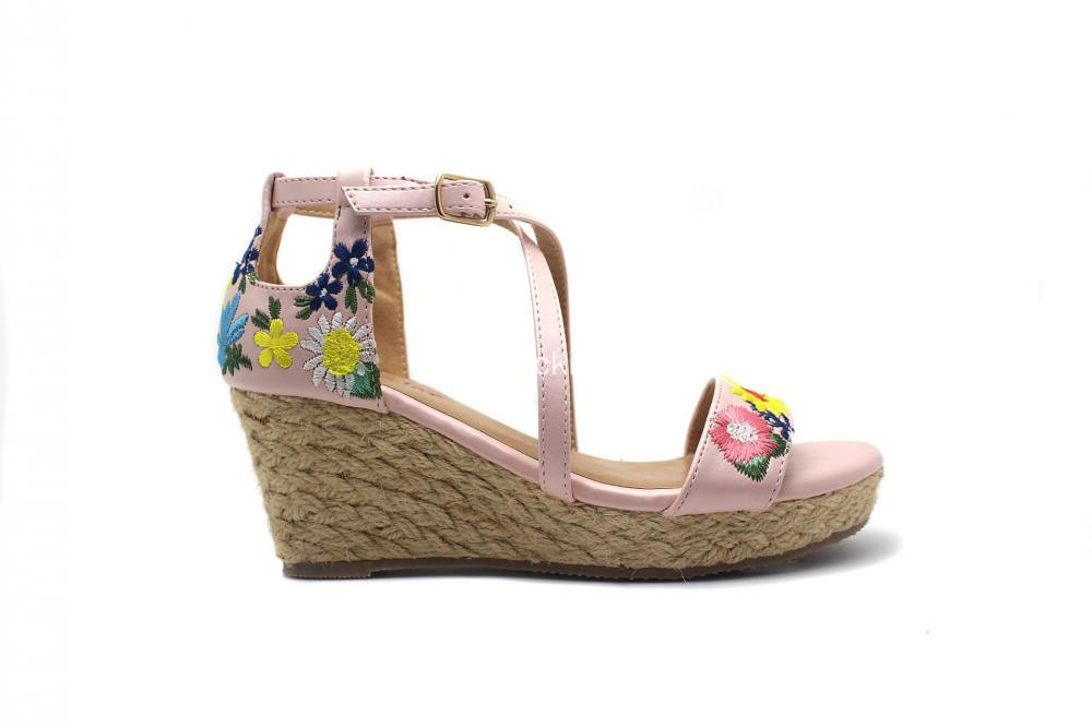 Sweet Girls Wedges Shoes with Ankle Strap