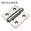 Silvery Mirror-Polished 304 SS Industrial External Hinge
