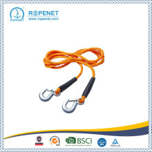 Professional for Elastic Tow Rope High Quality Wholesale Stretch Car Towing Rope supply to Palestine Factory