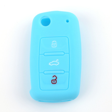 Hot Exported Silicone Car Key Shell För Skoda