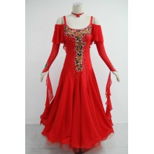 Hand Made Red Ballroom Dresses For Sale