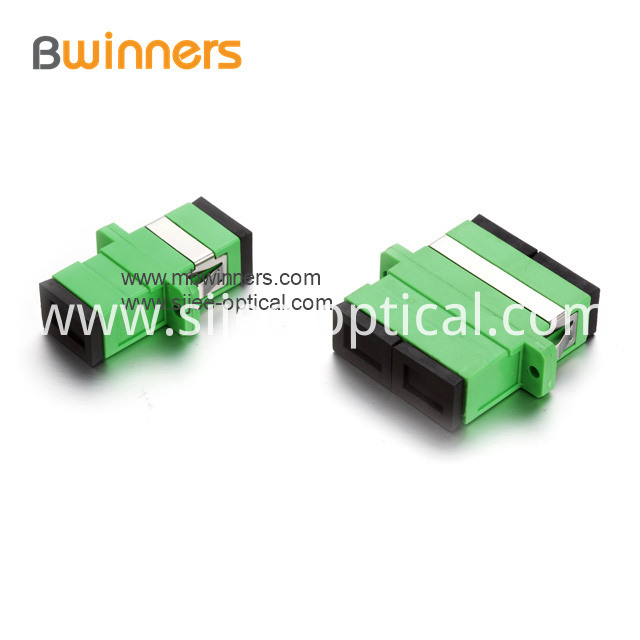 Sc Apc Fiber Optic Adapter