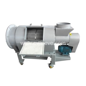 Airflow centrifugal sifter sieving screen for maize starch