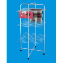 China for Multi-Use Clothes Airer Cart Multifunctional Clothes Dryer Cart export to Portugal Manufacturer