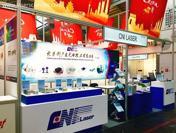 The picture of CNI's booth