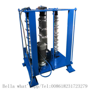 Vertical Corrugated IBR Sheet Arched/Crimping Machine