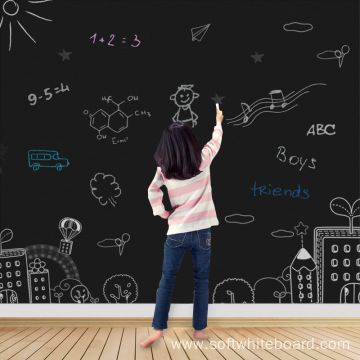 Large Children Self-Adhesive Blackboard For Wall