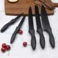 Non stick  kitchen knife set