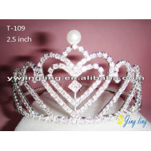Heart Valentine's Day Pageant Crowns