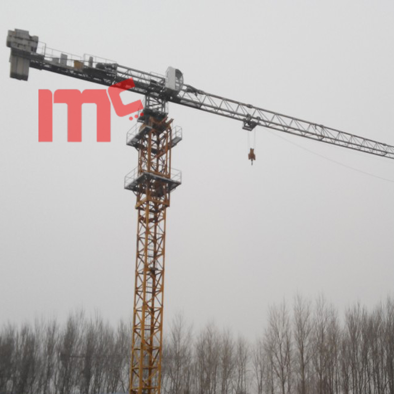 Potain type topless tower crane